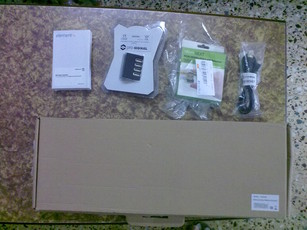Contents of the box from Kits n Spares