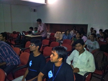 Presentation on Introduction to FOSS by Suraj and Ankur